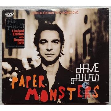 DAVE GAHAN (DEPECHE MODE) - PAPER MONSTERS CD+DVD