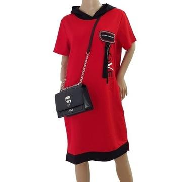 Sukienka czerwona Fashion Sports one size