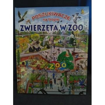 Poszukiwacze na tropie zwierzęta w zoo