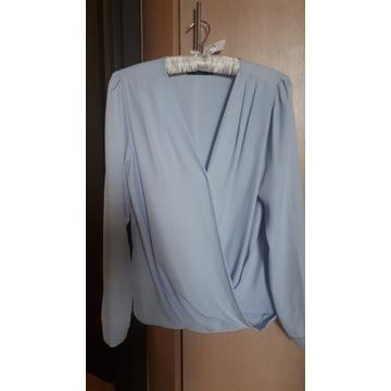 Błękitna bluzka Mohito r. S