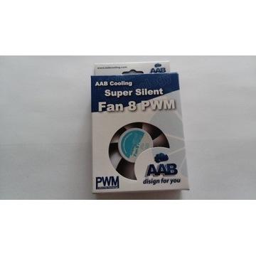 AAB Cooling Super Silent Fan 8 PWM 80x80x25 mm