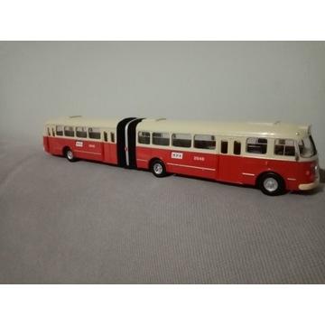 Autobus jelcz mex przegubowy AP-02 1/43 ogorek