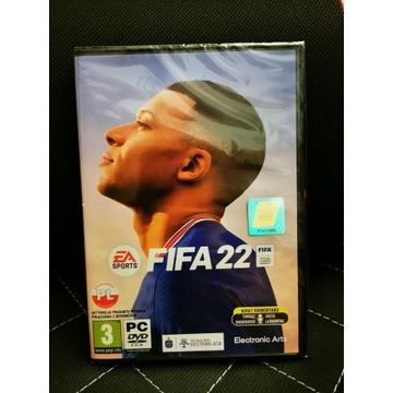 Fifa 2022 wersja PC PL Zafoliowana