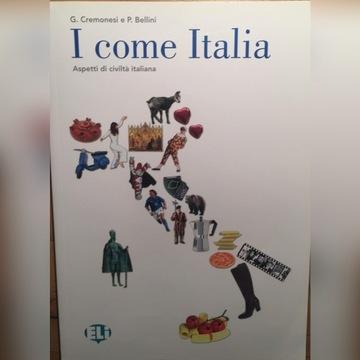 I come Italia książka + audio cd
