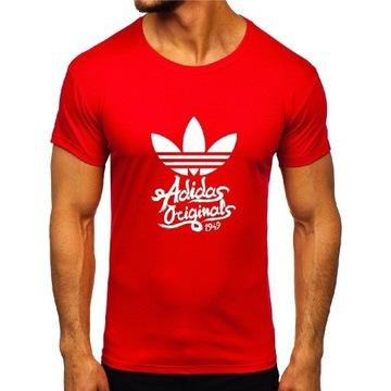 Koszulki Letnie Adidas Orginals Mix Kolorów 59,99