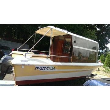 łódz motorowa trekingowa-wędkarska