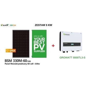 Zestaw Fotowoltaiczny 5 KW Growatt 5000TL3-S