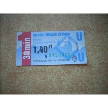 Bilet Kraków