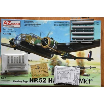 HP.52 Hampden Mk.I+B.Mk.I/TB.Mk.I conv./weapon set