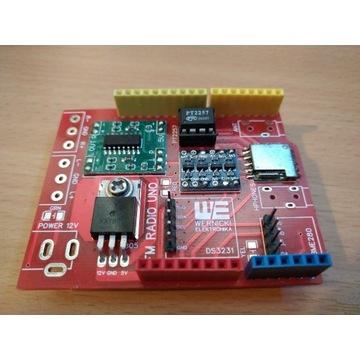 RADIO CYFROWE z wzmacniaczem, dla Arduino
