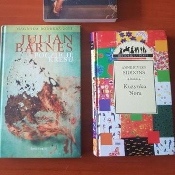 Pakiet 3 książek z domowej biblioteczki