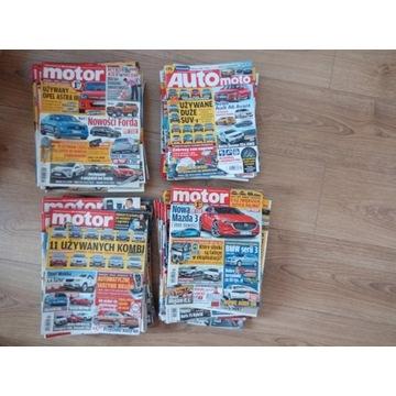 """Tygodnik """"Motor"""", miesięcznik """"Auto, Moto"""""""