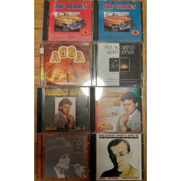14 płyt CD F.Sinatra E.Piaf E.Presley składanki