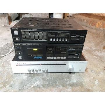 Magnetofon Wzmacniacz DIORA Tuner radiowy UNITRA