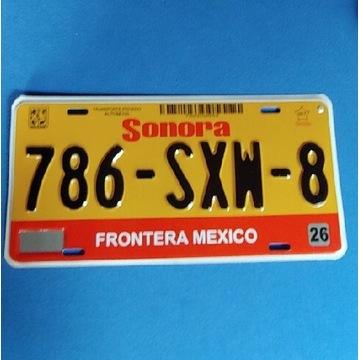 Tablica Meksyk Sonora
