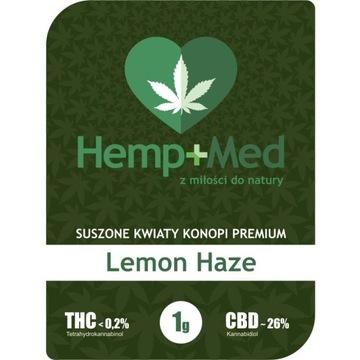 Lemon Haze Susz CBD 26% 1g  Hemp Med