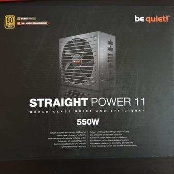 be quiet straight power 11 550w na gwarancji