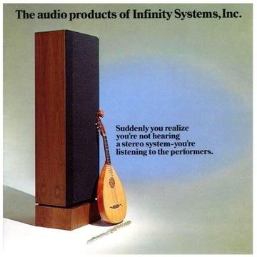 Katalog INFINITY z roku 1977