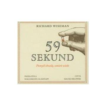 59 sekund / Richard Wiseman / audiobook mp3 cd