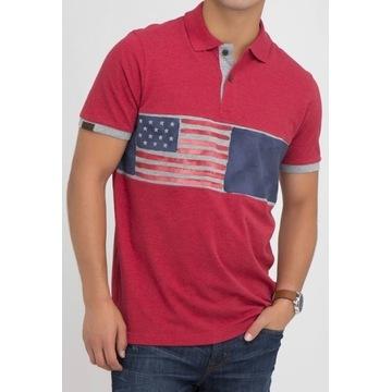 SHIRT FLAG PRINT U.S. POLO ASSN.