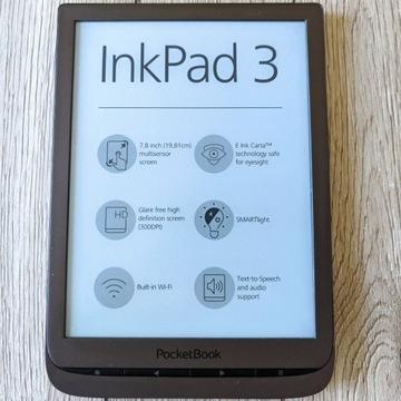 Czytnik PocketBook InkPad 3 ksiazki eBook 8GB e-bo