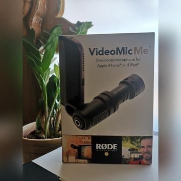 Mikrofon Rode Video Mic Me do IPhona lub IPad'a