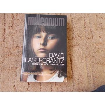 """""""Mężczyzna, który gonił swój cień"""" David Lagercran"""