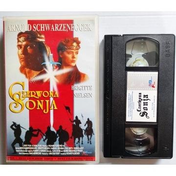 Conan Red Sonia. Kaseta VHS Best Film.