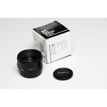 Obiektyw Canon EF 50mm f 1.8 II FV23%