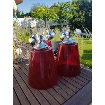 Lampy szklane