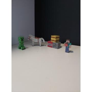 Minecraft figurki zestaw