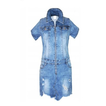Sexy sukienka jeans 3XL 44 46