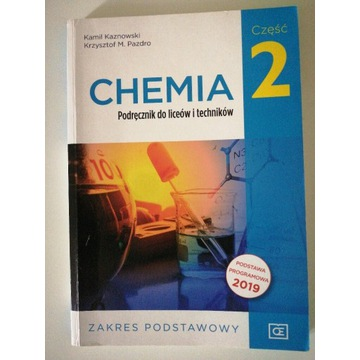 Chemia 2 Podręcznik do liceów i techników