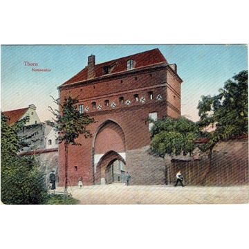 Toruń, Thorn, Brama klasztorna, Nonnentor 1917 rok