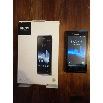 """Smartfon Sony Xperia J aparat 5 Mpx ekran 4"""""""