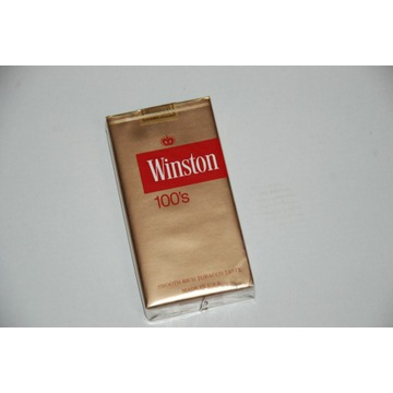 Stare papierosy ''Winston''