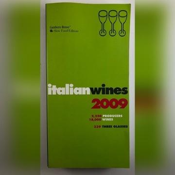 Italian Wines 2009 książka
