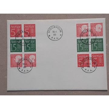 Szwecja 1966 FDC C.Słania