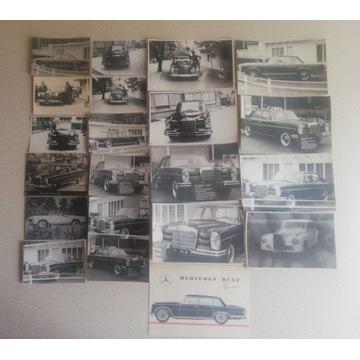 Stare zdjęcia Mercedes-ów z lat 60/70-tych