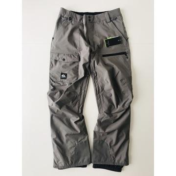 Quicksilver Utility spodnie narciarskie - Szare.