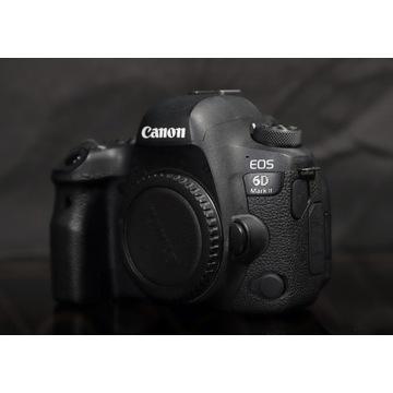 Aparat Canon 6D mark II - Niski przebieg