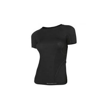 Brubeck koszulka damska Active Wool czarna XL