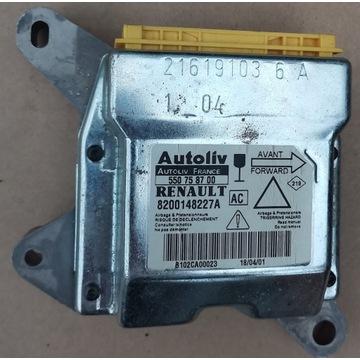 Laguna 2 moduł sensor airbag