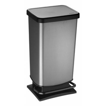 Kosz na śmieci PASO 40L carbon