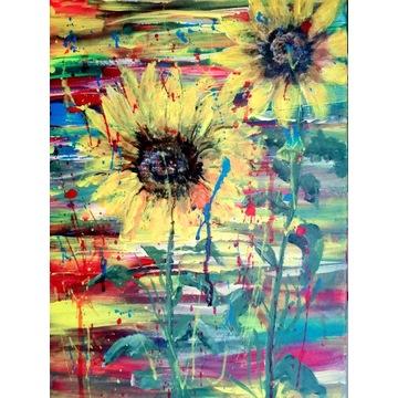 Obraz Akryl Płótno 30x40 Abstrakcja