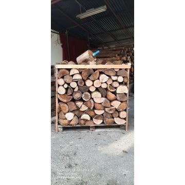 Drewno opałowe kominkowe suche dębowe