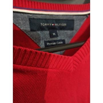 Sweter czerwony Tommy Hilfinger M