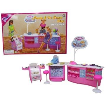 Fast-food cukiernia kawiarnia mebelki Barbie