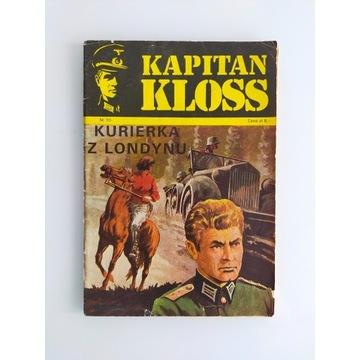 Kapitan Kloss Kurierka z Londynu wydanie pierwsze