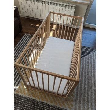 Łóżeczko IKEA + materac